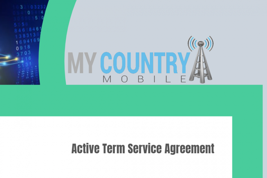 Active Term Service Agreement - My Country Mobile
