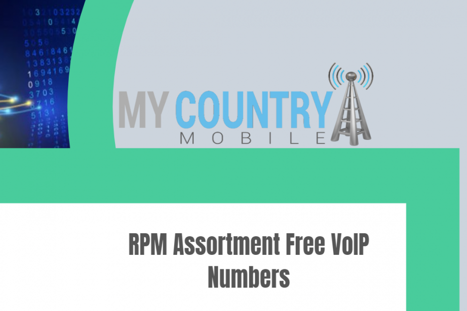 RPM Assortment Free VoIP Numbers - My Country Mobile